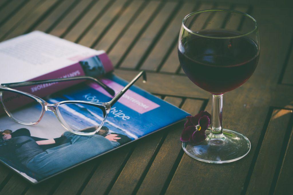 Tomar vinho em qualquer lugar :)